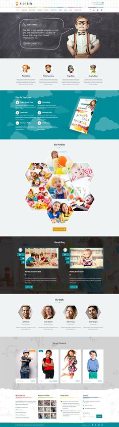 Hand Crafted kindergarten #WordPress Theme for Day care, preschool and any children, art, craft, school, nursery, education & training Website.  Power packed with drag and drop page builder, tons of short-codes, all in one theme options panel and covered with best in class support!  Responsive & Retina ready so each and every element of the Theme adapts to modern smart phones and tables. #education #kids