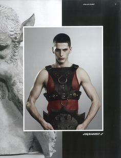 Robert Monteiro, Allen Taylor, Paolo Gallardo, Omari Dixon, & Sacha MBaye by Jamie Morgan for Arena Homme+