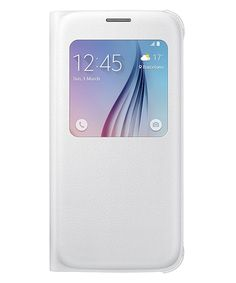 Samsung Galaxy S6 S-View Cover Wit