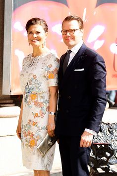 Crown Princess Victoria of Sweden and Prince Daniel of Sweden attends Royal Artistic Academies Arrivals at the Royal Operaon April 29, 2016 in Stockholm