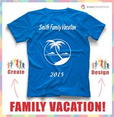 73b8a674 Family cruise vacation template ideas. Create a family vacation shirt design  for your next trip