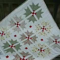Small quilt - cross and crown £50 in my Folksy shop