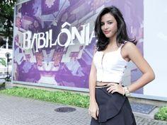 Atriz está animada com sua entrada em Babilônia (Foto: Fabiano Battaglin/Gshow)