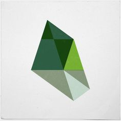#448 Forest topography – A new minimal geometric composition each day