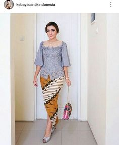 482 Best Kebaya Images In 2019 Batik Kebaya Kebaya Dress Blouses