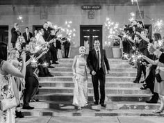 Sparkler Wedding Exit | photography by http://lauraannmiller.com/