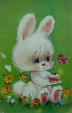PETER COTTONTAIL~BUNNY Vintage card
