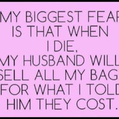 My biggest fear   Other