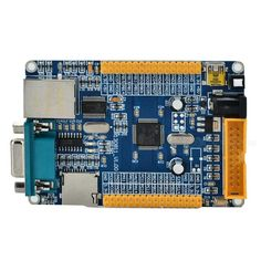 STM32F103RCT6 ENC28J60 Development Board - Blue + Yellow. Dual power supply: USB / external power supply (press for USB powered, bounce up for external power supply); TF card (SDIO mode); Serial port communication function (connect to Serial port 1); USB-SLAVE function; With LED; Ethernet port to serial port? RS232.. Tags: #Electrical #Tools #Arduino #SCM #Supplies #Boards #Shields