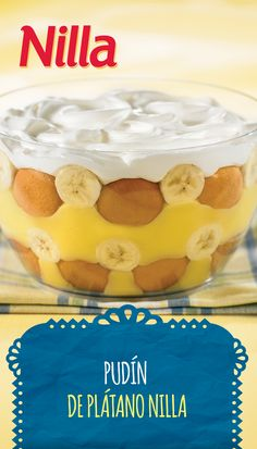 Original NILLA Banana Pudding Some recipes are so classic, they're perfect for any occasion. This Original NILLA Banana Pudding, with its airy custard and delicioso banana goodness, will please your merienda guests – young and old alike. Nabisco Banana Pudding Recipe, Vanilla Wafer Banana Pudding, Banana Pudding From Scratch, Old Fashioned Banana Pudding, Magnolia Bakery Banana Pudding, No Bake Banana Pudding, Banana Pudding Cheesecake, Southern Banana Pudding, Homemade Banana Pudding