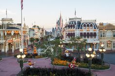 Before/After: Magic Kingdom Park Transforms for the Holidays « Disney Parks Blog
