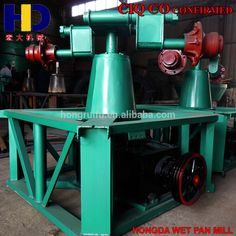 Gold Ore 1200A Wet Pan Mill Stone Gold
