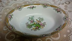 "John Maddock and Sons LTD Royal Vitreous 9"" Oval Vegetable Bowl by AntiquatedElegance on Etsy"