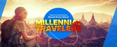 Millennials have redefined the way people used to travel. Taken by the internet storm, they are setting new paradigms of online travel industry. Online Travel, Business Travel, Social Media