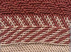Bosnian crochet- slip stitch crochet. Picture only.