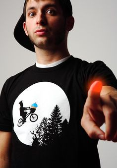 The Original Johnny Cupcakes E.T. worn by the Head Chef himself