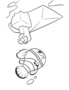 finding nemo coloring pages - Google-søgning