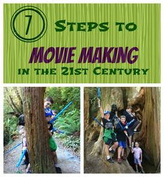 Outdoor adventures: How to create adventure movies and turn an ordinary day into a lasting memory with your kids.