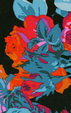 English Rose black (Portsmouth Fabric Company) check out the entire Phlip Jacobs collection