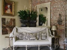Furnishings at Capitol Park Antiques, Interiors & Gardens.
