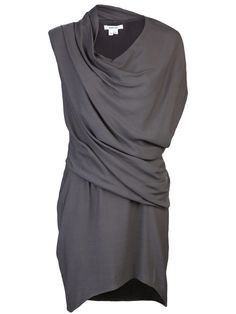 Helmut Lang Prism Drape Dress Post mastectomy fashion #PostMastectomyFashion