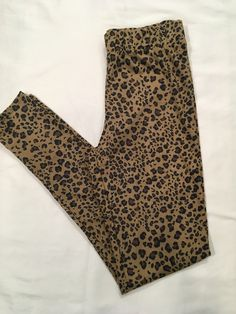 2f5ae8007700 My Super Soft Suede Feel Leopard Print Leggings by ! Size 4 / S for $