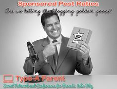 Sponsored Post Ratios – Are We Killing the Blogging Golden Goose?