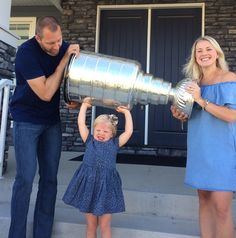 There's nothing better than sharing the Stanley Cup with your family and Eric Fehr chose to do just that with his day.