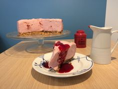 Cheese cake framboises