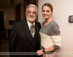"EVENTS: Stana Katic & Placido Domingo - ""La Traviata"" L.A. Opera (2014)"