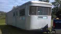 COOL! 1957 SPARTAN ROYAL MANSION  VINTAGE 1957 SPARTAN ROYAL MANSION TRAVEL TRAILER