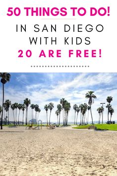 Check out the TOP 50 Things to do in San Diego with Kids and 20 of them are FREE! These are the best San Diego attractions for kids. You will discover the off-the-beaten-path local favorites to help you plan your best San Diego vacation with kids. Click through to the post to see the list and get ALL the information you need to plan your San Diego vacation. #sandiegowithkids #kidsfreesandiego #sandiego #traveltips #traveldestinations California With Kids, California Travel Guide, Visit California, Toddler Travel, Travel With Kids, Family Travel, San Diego Attractions, Kids Attractions, Family Vacation Destinations