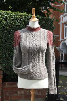 made to order, hand knitted, wool