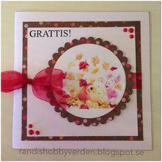 Randis hobbyverden: Grattiskort med bilde av to gode venner