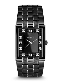 45a37d11383 Bulova 98D111 Men s Diamond Watch