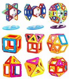 INIEIWO Magnetic Blocks Building Set Educational Building Tiles Blocks Stack Toys Set for Baby Toddler or Kids 95 pieces *** Learn more by visiting the image link. (This is an affiliate link) Good Birthday Presents, Birthday Gifts For Kids, Magnetic Building Blocks, Building Toys, Construction For Kids, Magnetic Toys, Kids Blocks, Best Kids Toys, Child Models
