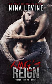 Book Reviewed: King's Reign   My Rating: 5 Stars   Author: Nina Levine   Publication Date:   Reviewed by: Tammy Payne- Book Nook Nuts...