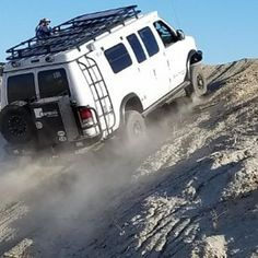 @advmobile putting his Sportsmobile outfitted with Aluminess gear to the test....passed with flying colors! . #aluminess #roofrack #ladder #bumpers #sportsmobile #adventurevan #adventuremobile #campervan #vanconversion #4x4 #4x4van #vanlifemovement #anzoborrego #4wdrv #4wdvan @sportsmobiles @sportsmobilewest