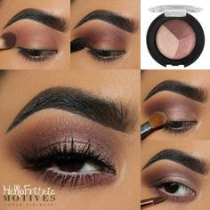 makeup ideas witch makeup ideas cute ideas for vampires halloween makeup ideas makeup ideas makeup ideas for halloween ideas blue eyes simple makeup ideas Makeup Eye Looks, Eye Makeup Steps, Makeup For Brown Eyes, Smokey Eye Makeup, Eyeshadow Looks, Skin Makeup, Eyeshadow Makeup, Motives Makeup, 80s Makeup