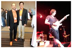 Joe Pulizzi and his talented staff host an amazing conference (CMW) that offers high quality content from high quality speakers. Joe is widely recognized as the father of modern content marketing. His brand adds personality with his love all things orange, especially his orange shoes. He's even inspired me to add some orange to my wardrobe...This year's entertainment featured legendary rocker Rick Springfield.