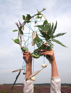 Natural Dream Catcher.     Gloucestershire Resource Centre http://www.grcltd.org/home-resource-centre/