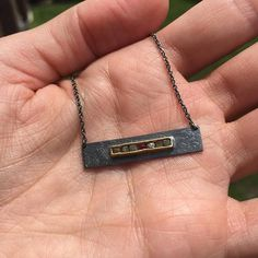 Read @_lotro_'s Todd Reed story on our blog! This necklace is a custom piece that was designed by her husband.