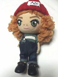 チルぐるみ お友達のピグのキャラクターを作りました It is a doll of game characters pigg