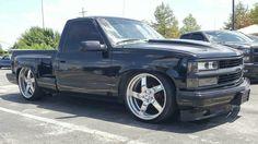 Chevrolet Silverado, Chevy Stepside, Chevy Pickups, Silverado 1500, Chevrolet Trucks, Chevy Trucks Lowered, Custom Chevy Trucks, Chevy Pickup Trucks, Gm Trucks