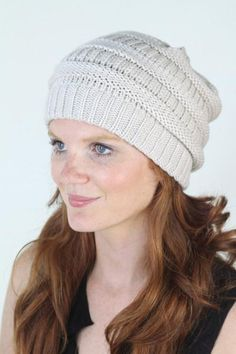 Willow Beanie is back in stock!  <3 www.mooreaseal.com