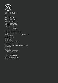 Aphex Twin announces new EP | Dazed