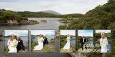 Using a scenic background on a double page spread Wedding Albums, Our Wedding, Wedding Photos, Custom Design, Nature, Beautiful, Marriage Pictures, Naturaleza, Bridal Photography