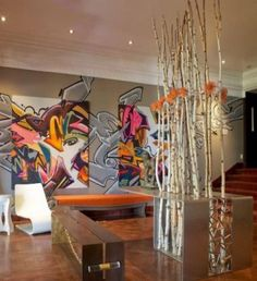 Sử dụng các họa tiết để trang trí tường nhà ~ Phạm Thu's Blog