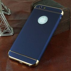 Ultra Thin Hard Luxury Iphone Case For 6 6S 7 5S 5 S 360 Degree Protection Back Cover