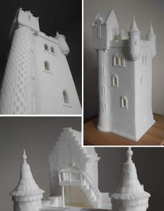Sugar cubes.... Helen's Tower by Brendan Jamison
